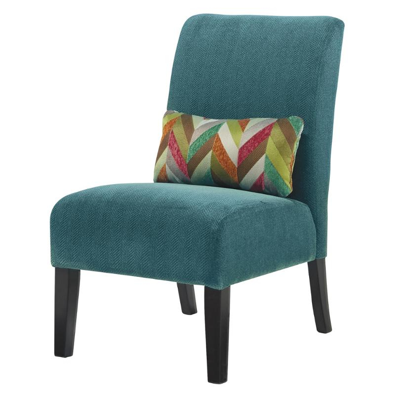 Goodyear Slipper Chairs In 2020 6160460 Ashley Furniture Annora – Teal Accent Chair (View 6 of 30)