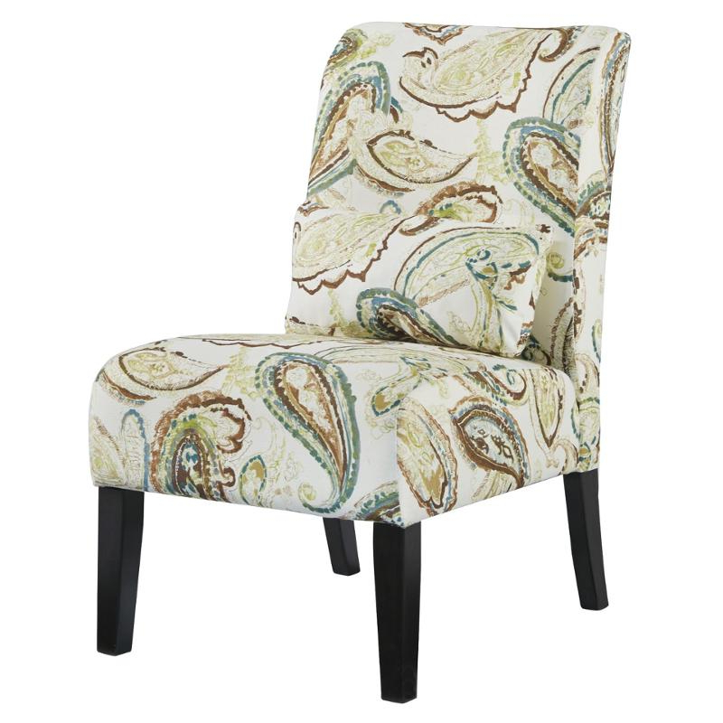 Goodyear Slipper Chairs With Regard To Well Known 6160660 Ashley Furniture Annora – Paisley Accent Chair (View 18 of 30)