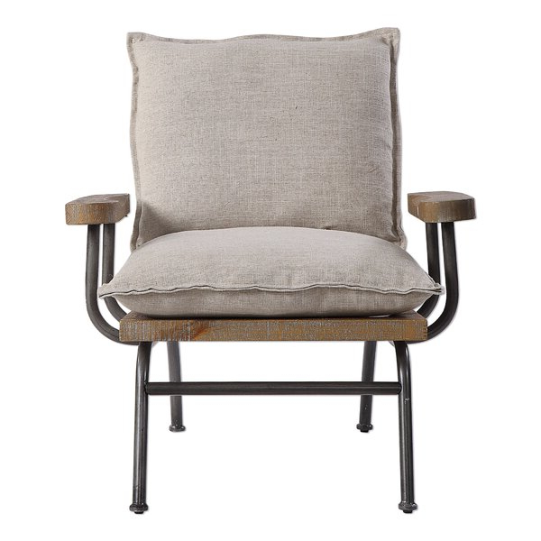 Goose Neck Arm Chair In Most Recently Released Bernardston Armchairs (View 7 of 30)