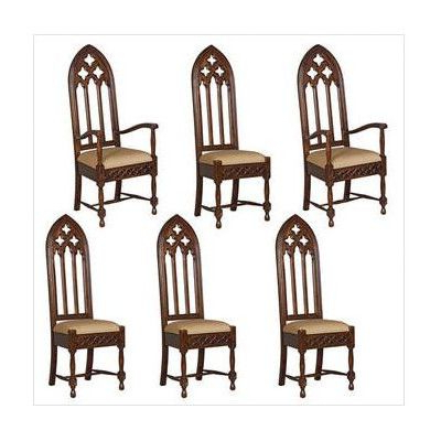 Gothic Furniture, Dining Chair Set, Gothic Chair Within Widely Used Ragsdale Armchairs (View 18 of 30)
