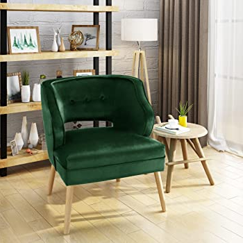 Green Accent Chairs Living Room With Regard To Trendy Aalivia Slipper Chairs (View 17 of 30)