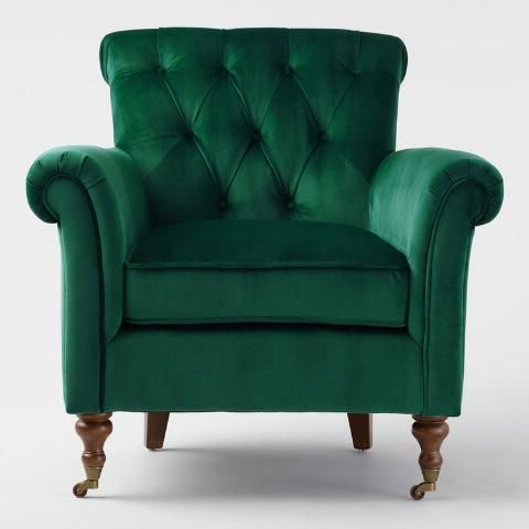 Green Armchair, Green Chair (View 17 of 30)