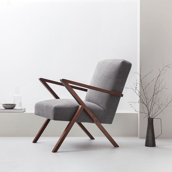 Grey Retrostar Chair Classic Line (View 22 of 30)