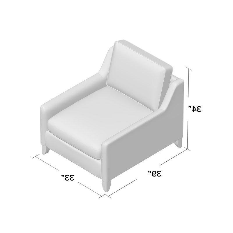 Haleigh Armchair Regarding Most Popular Haleigh Armchairs (View 7 of 30)