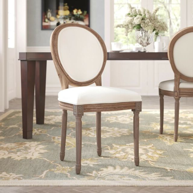 Haleigh Upholstered King Louis Side Chairophelia & Co — In Box Unopened Pertaining To Newest Haleigh Armchairs (View 15 of 30)