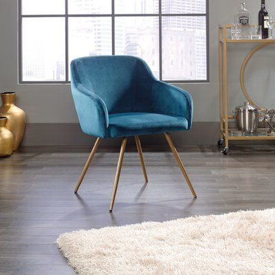 Hanner Armchair Upholstery Color: Blue In (View 15 of 30)