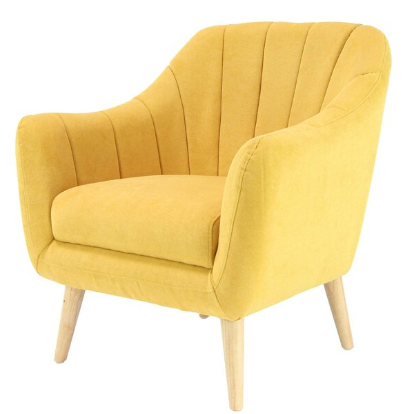 Hanner Polyester Armchairs Pertaining To Fashionable Veasley Armchair (View 14 of 30)