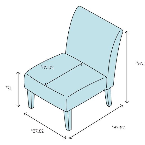 Harland Modern Armless Slipper Chair Regarding Best And Newest Harland Modern Armless Slipper Chairs (View 5 of 30)