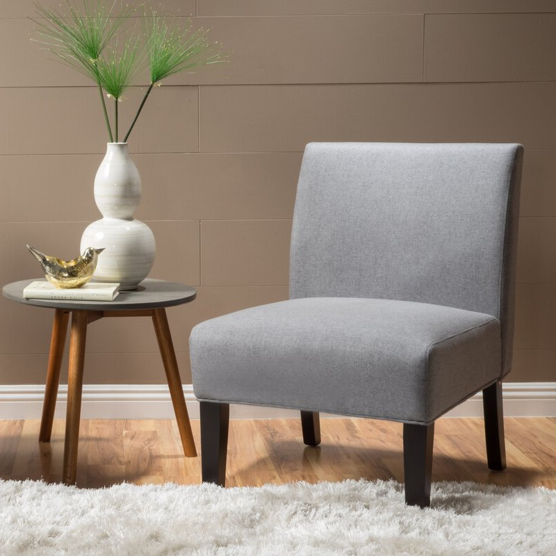 """Harland Modern Armless Slipper Chairs Intended For Current Yokota 23"""" Slipper Chair (View 22 of 30)"""