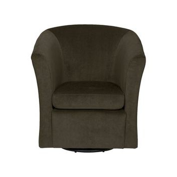 Hazley Faux Leather Swivel Barrel Chairs Throughout Best And Newest Hazley Barrel Swivel Chair – Wayfair (View 7 of 30)