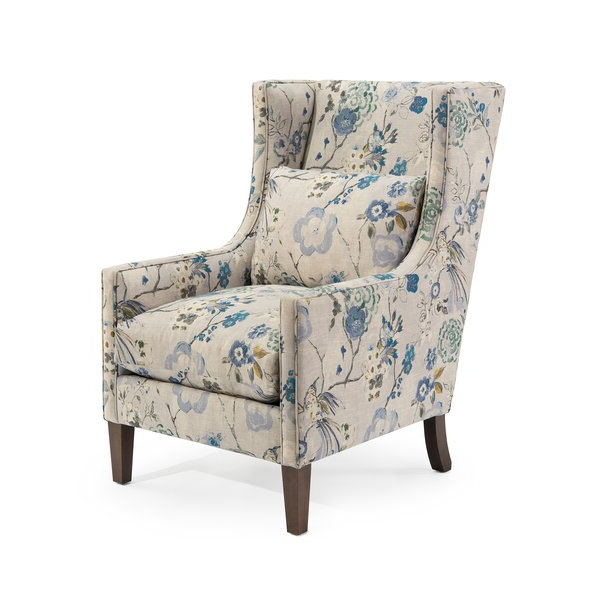 High Back Wingback Chair Inside Most Up To Date Waterton Wingback Chairs (View 9 of 30)