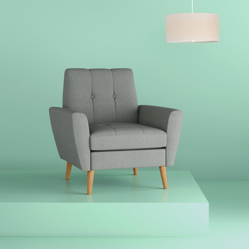 Hiltz Armchairs Inside Most Up To Date Chauvin Armchair (View 22 of 30)