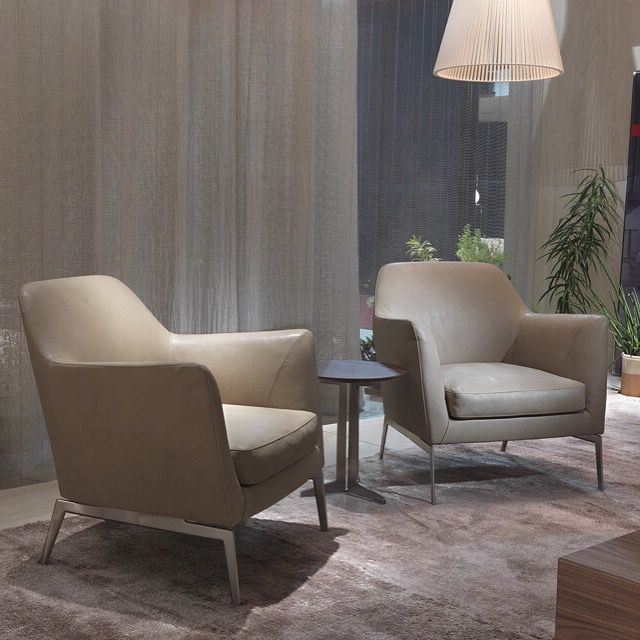 Hiltz Armchairs With Regard To Widely Used Flexform, Made In Italy (View 25 of 30)