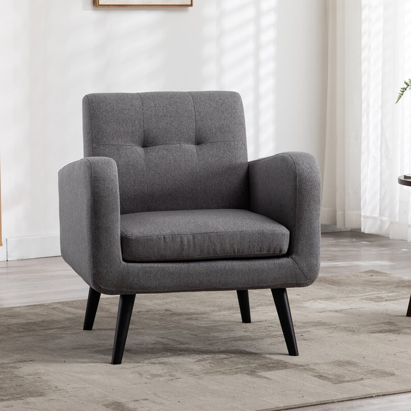 Hofstetter Armchairs Within Preferred Armory Fabric Armchair (View 20 of 30)
