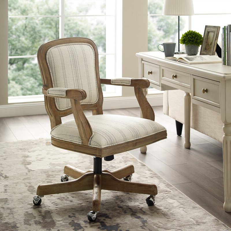 Hutchinsen Polyester Blend Armchairs Regarding Preferred Akron Task Chair (View 22 of 30)