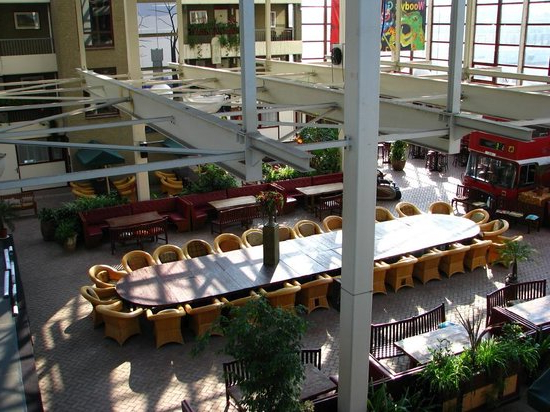 Internal Yard Under Roof – Picture Of Hotel Den Helder Pertaining To Widely Used Helder Armchairs (View 29 of 30)