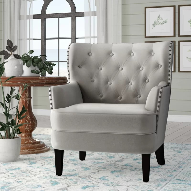 Ivo Wingback Chairlaurel Foundry Modern Farmhouse Review For Recent Andover Wingback Chairs (View 27 of 30)
