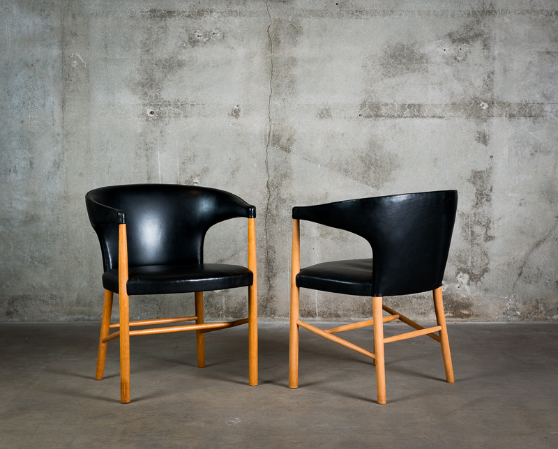 Jacob Kjaer Armchairs – Jf Chen Inside Popular Beachwood Arm Chairs (View 24 of 30)