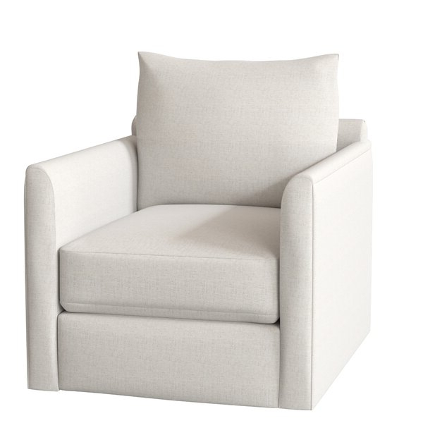 Kira Swivel Armchair Intended For Well Liked Ronald Polyester Blend Armchairs (View 13 of 30)