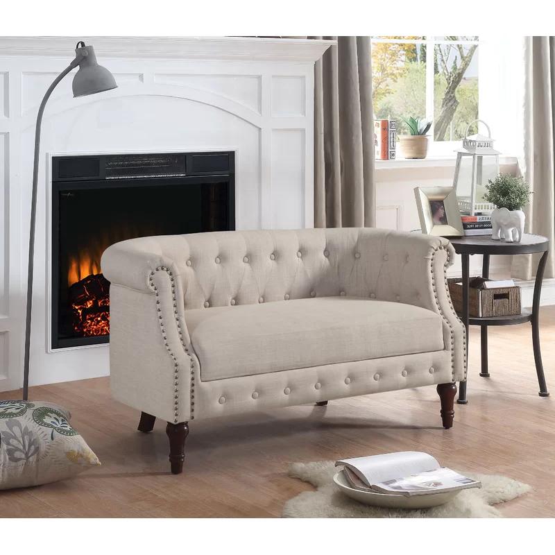 Kjellfrid Chesterfield Chairs For Most Recently Released Charlton Home® Kjellfrid (View 10 of 30)