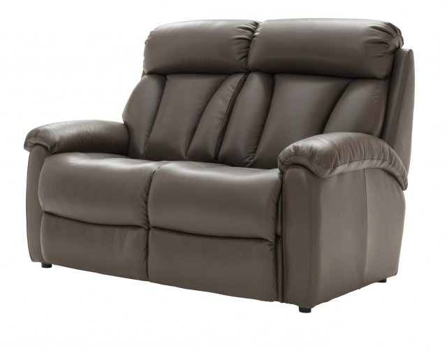La Z Boy Georgina 2 Seater Leather Sofa Intended For Well Liked Georgina Armchairs (set Of 2) (View 16 of 30)