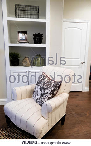 Latest Contemporary Chair In Front Of Built In Polished Cupboards Within Autenberg Armchairs (View 27 of 30)