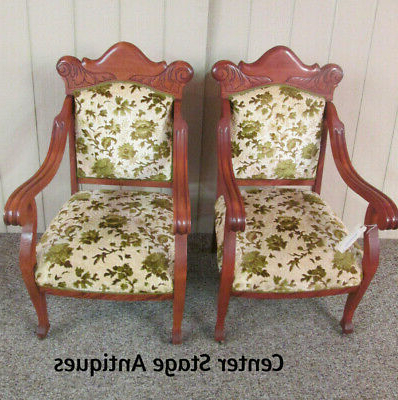 Latest Louisburg Armchairs For 1900 1950 – Antique Side Chair – 12 – Vatican (View 17 of 30)