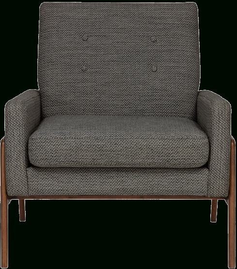 Latest Nadene Armchairs Within Nord, Mid Century Modern Armchair – Meteorite Gray And Walnut (View 12 of 30)