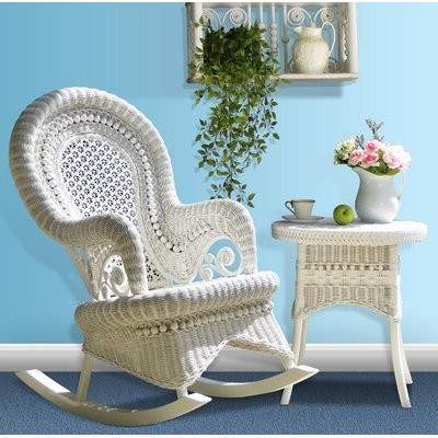 Lau Barrel Chairs Pertaining To Well Liked Bamey Rocking Chair (View 13 of 30)