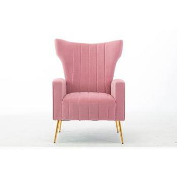 Lauretta Velvet Wingback Chairs Intended For Trendy Lauretta Wingback Chair (View 26 of 30)