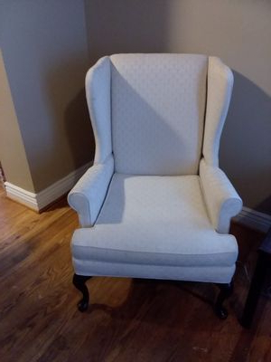 Lauretta Velvet Wingback Chairs Pertaining To Most Recently Released New And Used Wingback Chair For Sale In Winchester, Va – Offerup (View 25 of 30)