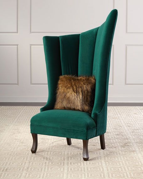 Lauretta Velvet Wingback Chairs Throughout Widely Used Lauretta (View 13 of 30)