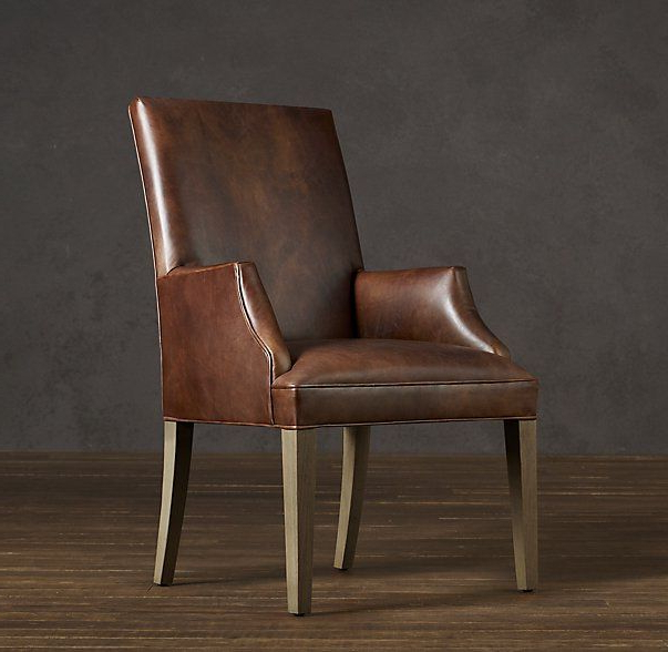 Leather Dining Room Chairs (View 20 of 30)