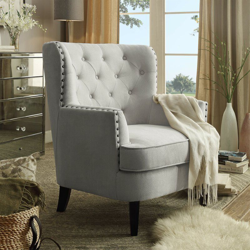 Lenaghan Wingback Chair In (View 10 of 30)