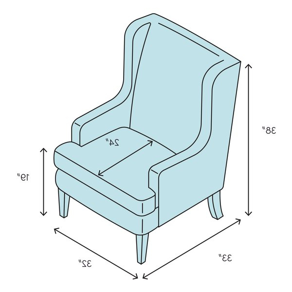 Lenaghan Wingback Chair With Widely Used Lenaghan Wingback Chairs (View 9 of 30)
