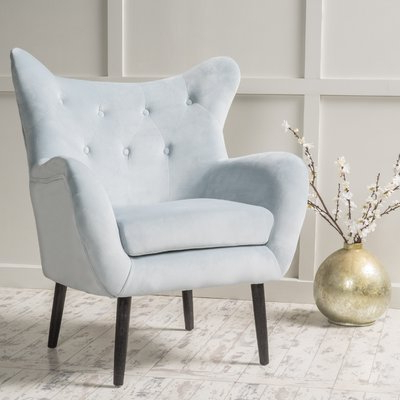 Leppert Armchairs Throughout Recent Bouck Wingback Chair – Wayfair (View 11 of 30)