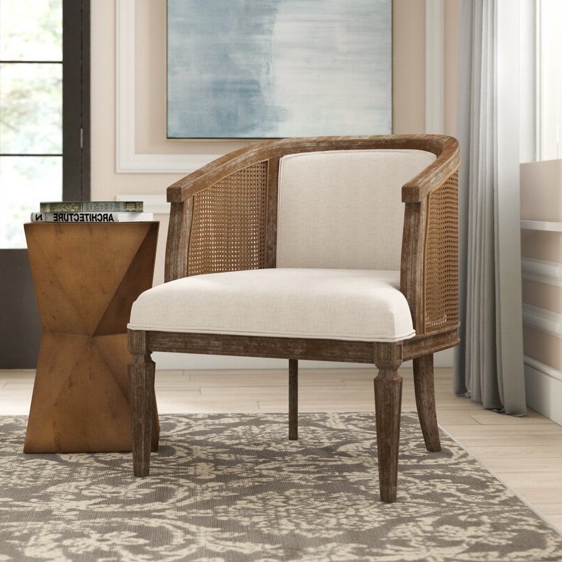 Lindsey Barrel Chair Inside Latest Briseno Barrel Chairs (View 4 of 30)