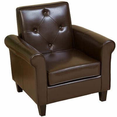 Liston Faux Leather Barrel Chairs Pertaining To Fashionable Chehalis (View 24 of 30)