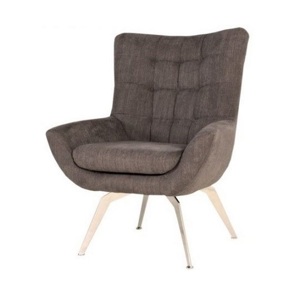 Loft Metal Legs Lounge Chair – Just Contract Furniture Ltd Within Widely Used Lounge Chairs With Metal Leg (View 30 of 30)