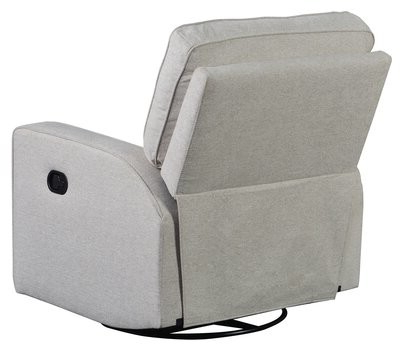 Loftus Swivel Armchairs Inside Widely Used Bertenshaw Manual Swivel Recliner Fabric: Beige Velvet (View 13 of 30)