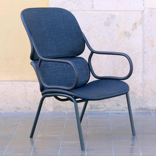 Lounge Chairs With Metal Leg Regarding Well Known Expormim Frames High Back Lounge Chair, Metal Legs – Made (View 23 of 30)