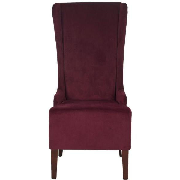 Madison Avenue Tufted Cotton Upholstered Dining Chairs (set Of 2) Throughout Favorite Safavieh Bacall Bordeaux Cotton Dining Chair Mcr4501k – The (View 26 of 30)