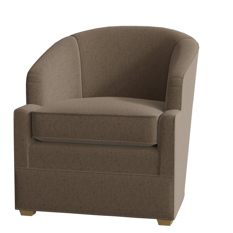 Manning Barrel Chair With Popular Claudel Polyester Blend Barrel Chairs (View 2 of 30)
