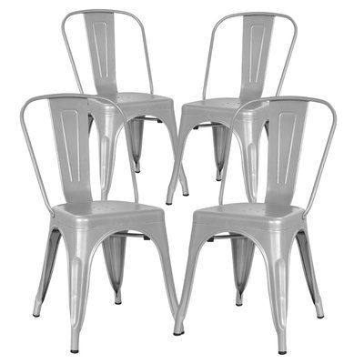 Metal Side Chair, Plastic Dining (View 11 of 30)