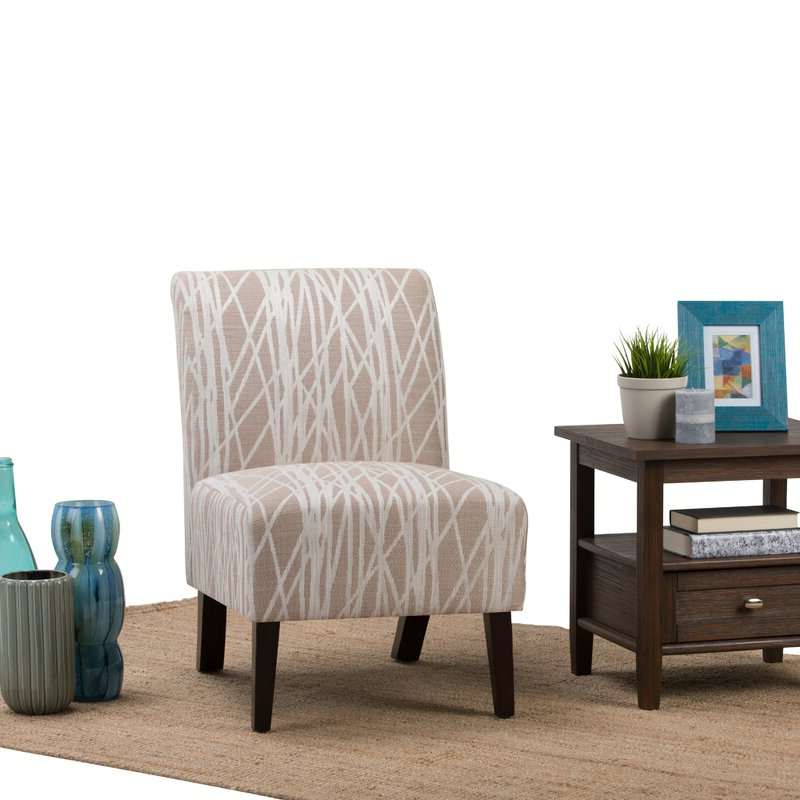 Midhurst Slipper Chair With Most Popular Daleyza Slipper Chairs (View 17 of 30)