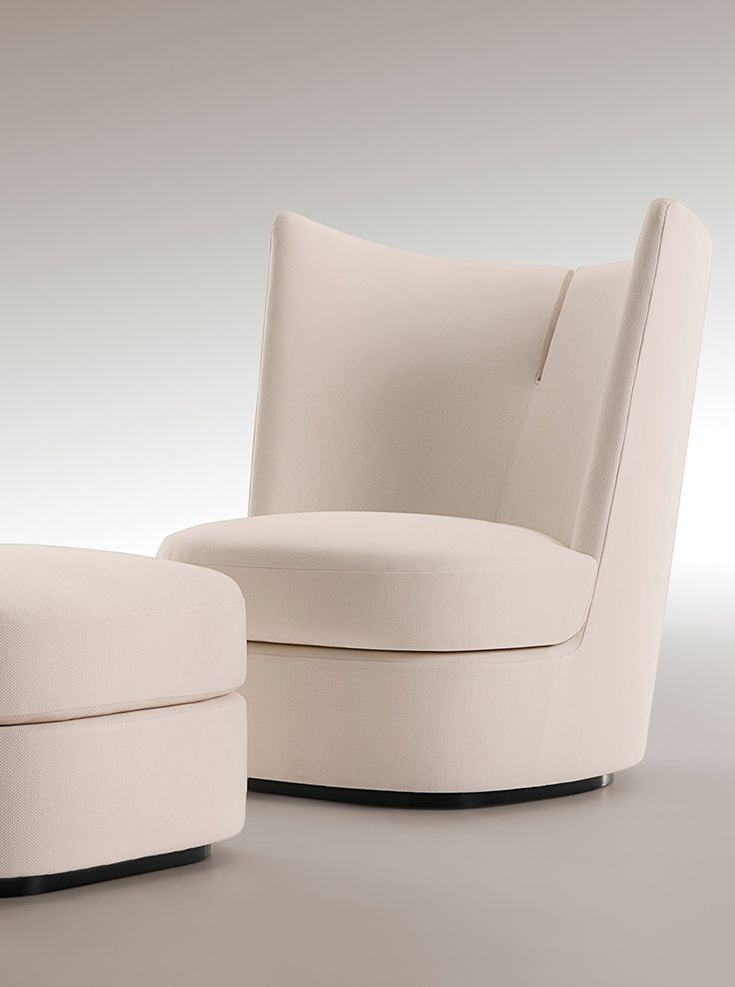 Modern Armchairs And Ottoman In 2019 Something Like This Could Work For Next To Your Bed Or Even (View 18 of 30)