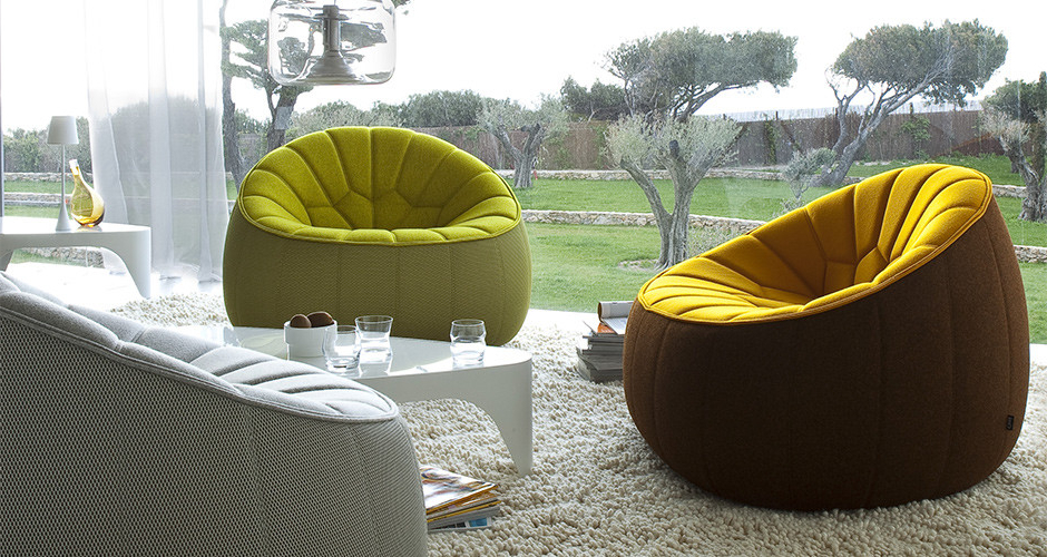 Modern Armchairs And Ottoman With Best And Newest Ottomanligne Roset (View 27 of 30)