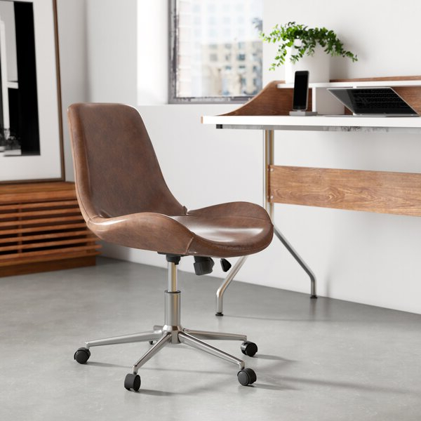 Modern & Contemporary Modern Office Chair Intended For Favorite Harland Modern Armless Slipper Chairs (View 23 of 30)