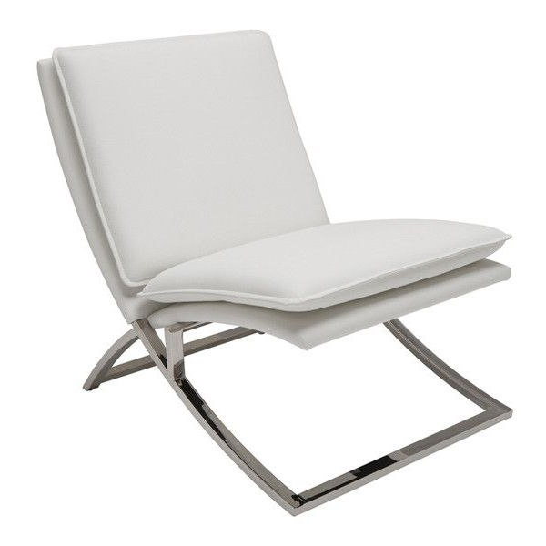 Modern Lounge Chairs, Modern White With Fashionable Perz Tufted Faux Leather Convertible Chairs (View 27 of 30)