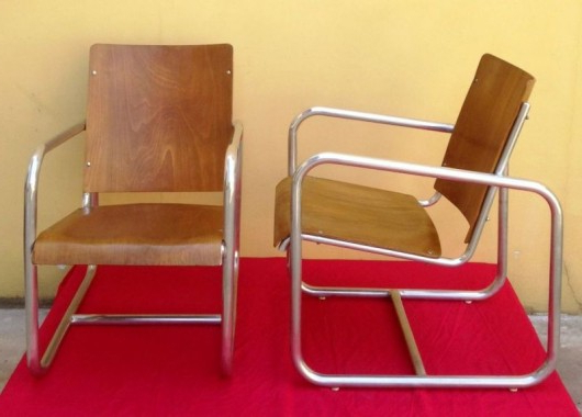 Moioli Gallery – 1930's Rationalist Italian Armchairs Inside Famous Columbus Armchairs (View 29 of 30)